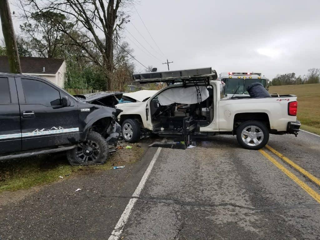 ATC vehicle wreck safety