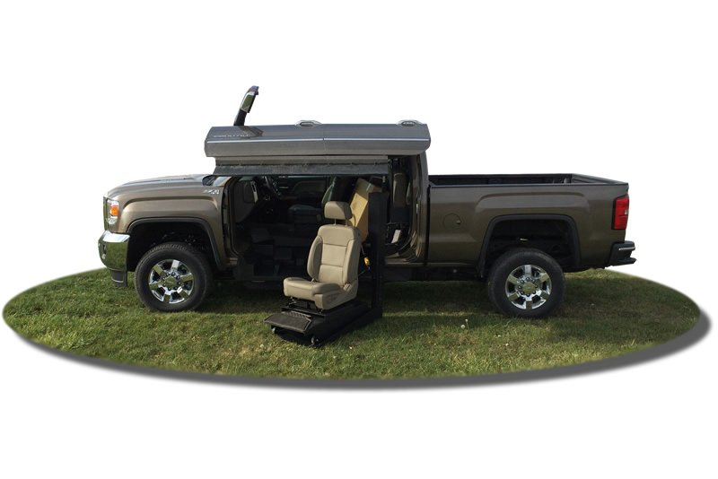 2014-Present Chevrolet Silverado or GMC Sierra 2500, Passenger Side Conversion
